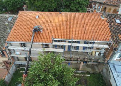 Rénovation toiture et façade
